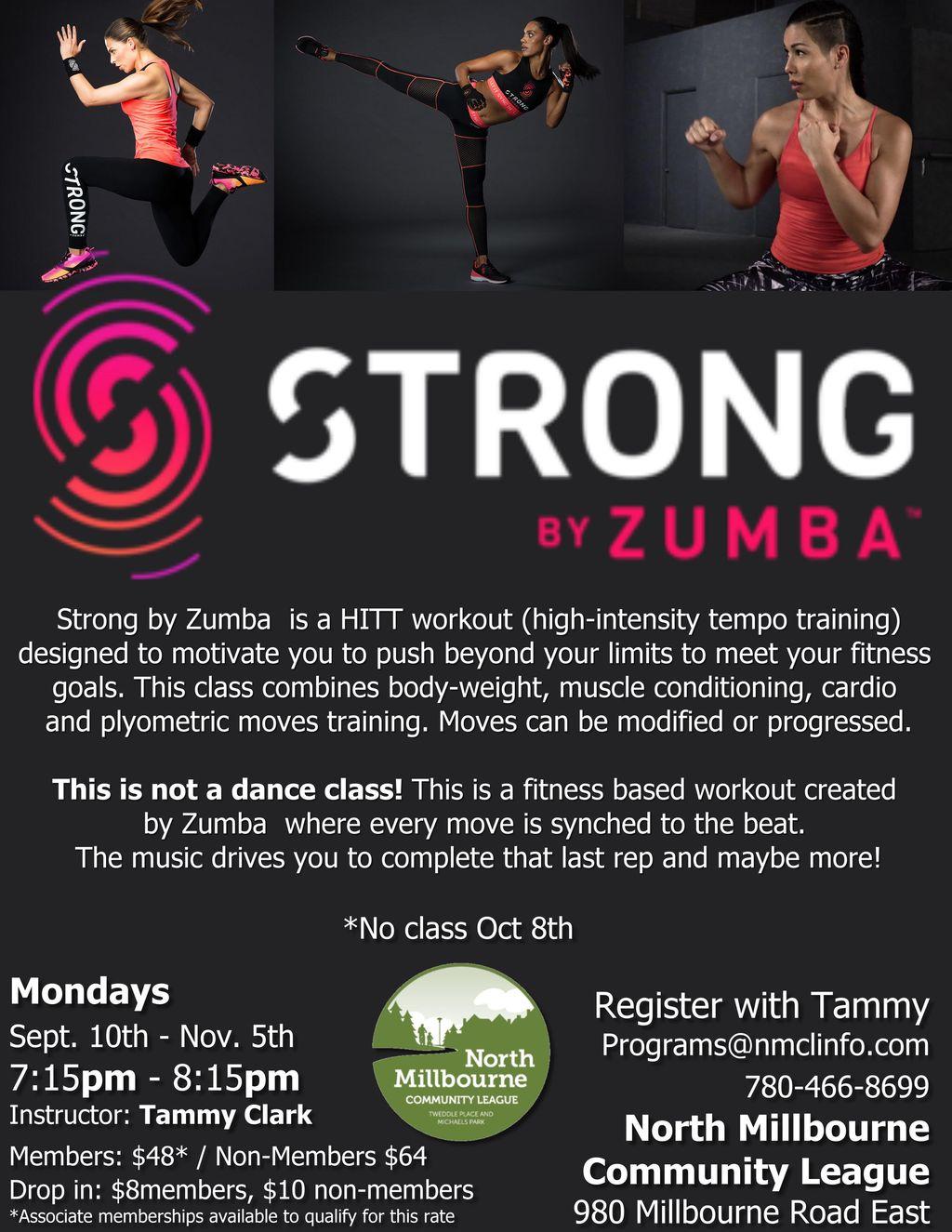 ZUMBA STRONG AUGUST UPDATE 2018_1